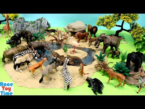 Safari African Animals Fun Toys For Kids