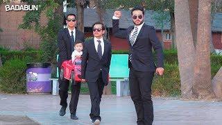 Bebé con guardaespaldas suelto en México
