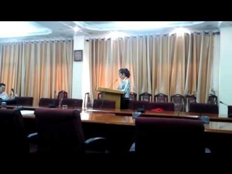 Lễ bảo vệ luận văn Thạc sĩ Luật Marianguyen