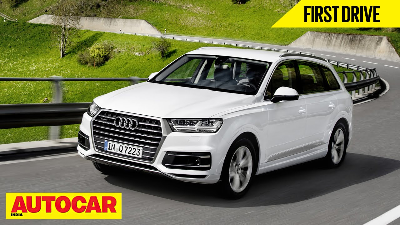 2015 Audi Q7 First Drive Autocar India Youtube