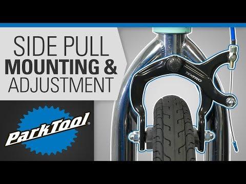Brake Caliper Mounting & Adjustment - Side Pull
