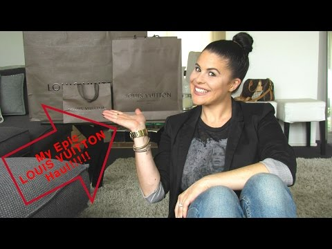 My Epic  LOUIS VUITTON collective Haul!!