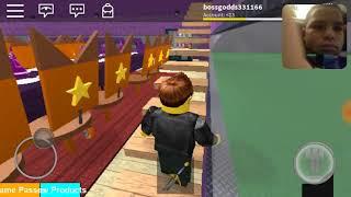 Roblox gameplay with raffyrocks316