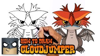 How to Draw Cloudjumper | How to Train your Dragon