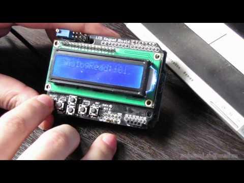 LCD Keypad Shield для Arduino, обзор и работа.