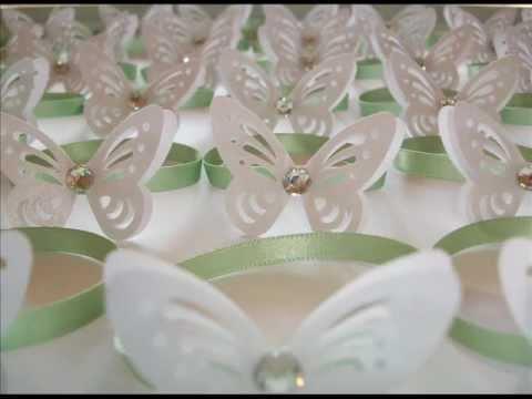 Sara crea creazioni di carta per matrimoni ed eventi - Decorazioni con fazzoletti di carta ...