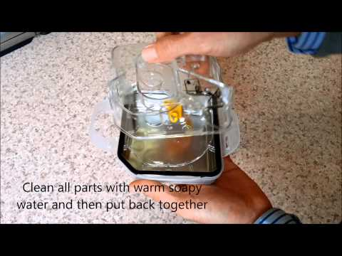 Resmed H5i Humidifier - How to take the chamber apart for cleaning