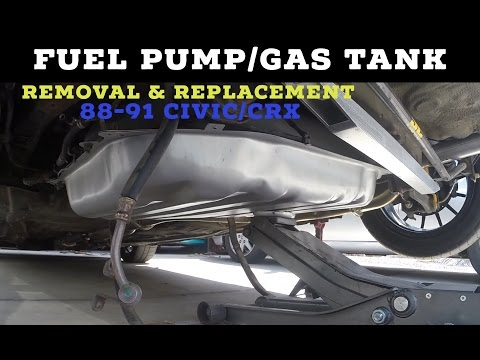 How to Replace Fuel Pump & Gas Tank (88-91 Civic/CRX)