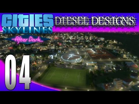 Cities: Skylines: After Dark:S7E4: Evil Genius's Campus! (City Building Series 1080p)