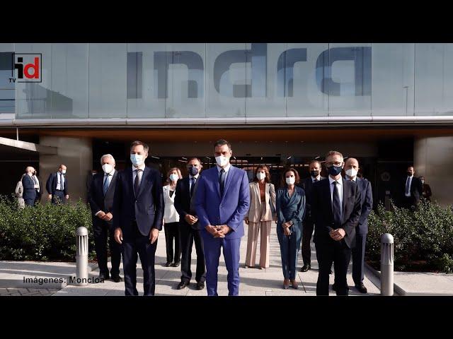 El presidente del Gobierno muestra su confianza en la estrategia de crecimiento de Indra