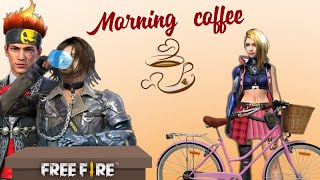 Morning Coffee☕ song free fire  version | gana achu | in tamil