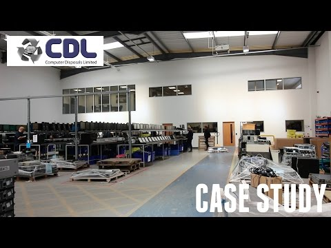 Office Mezzanine Floor & Warehouse Fit Out - Computer Disposals Limited Case Study