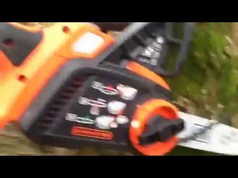 How to replace chainsaw blade on a black decker 20 v chainsaw how to replace chainsaw blade on a black decker 20 v chainsaw rechargeable greentooth Images