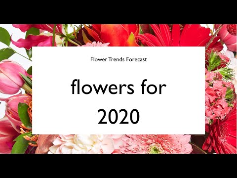 Flowers For 2020 From IFD Flower Trends Forecast 2020