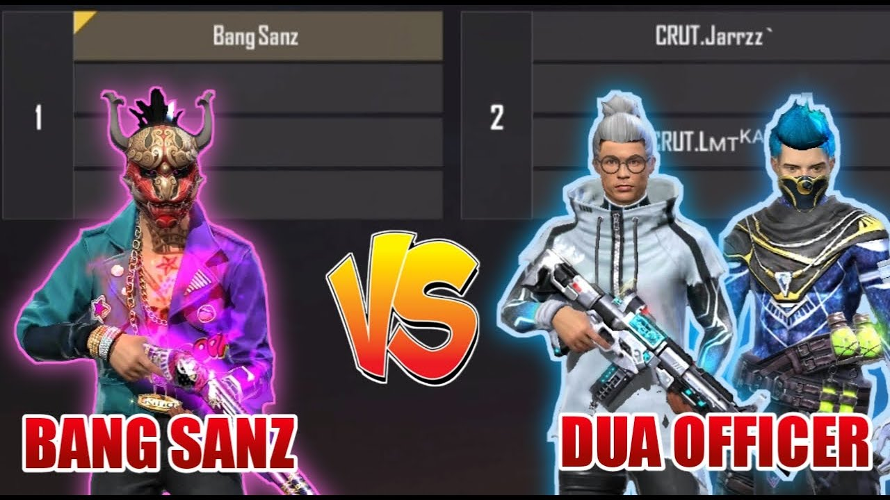 BANG SANZ VS DUA OFFICER GASS.CRUT 👽🎯