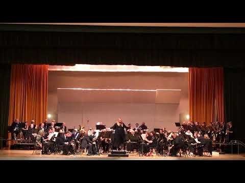 """Ventura County Concert Band """"The Sounds of Strength"""" Jan 2018"""