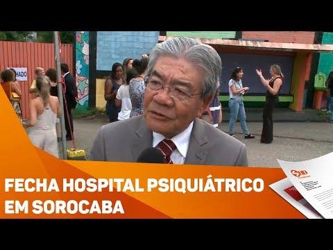 Fecha hospital psiquiátrico em Sorocaba - TV SOROCABA/SBT