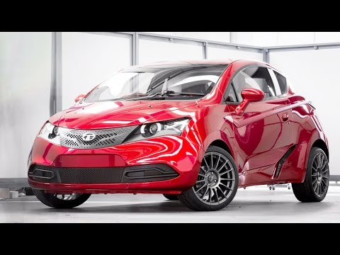 TAMO Unveils C-Cube Concept Hatchback l Tata-Microsoft Sports Car
