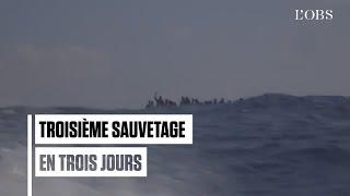 En trois jours, l'Ocean Viking a sauvé 251 migrants en Méditerrannée
