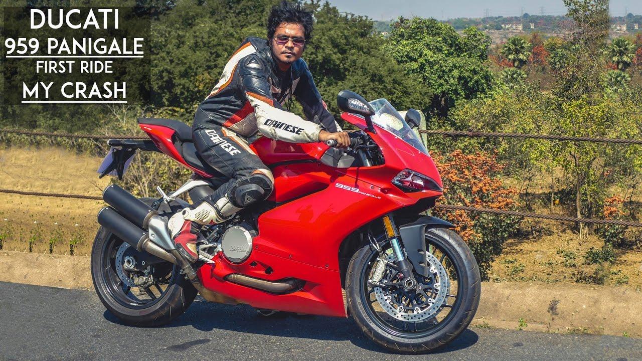 Superbikes Ride To Garhpanchkot My Crash Ducati 959 Panigale