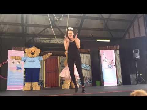 babyballet perform at the Perth Royal Show