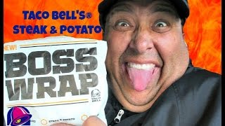 taco bell s steak potato boss wrap review