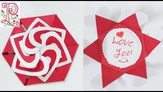 Greeting card Making for valentine