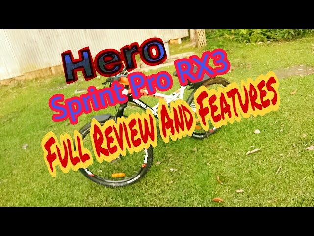 HERO SPRINT PRO RX3 | REVIEW AND FEATURES | SYLO NASH