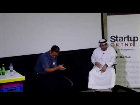 Majid Al Mail (Abu Dhabi Technology Development Committee) at Startup Grind Abu Dhabi