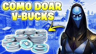 HOW TO DONATE V-BUCKS TO YOUR FRIEND AT FORTNITE!!!!