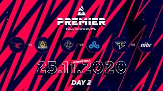 Mousesports vs Godsent, NIP vs Cloud9, Faze vs MIBR | BLAST Premier Fall Showdown