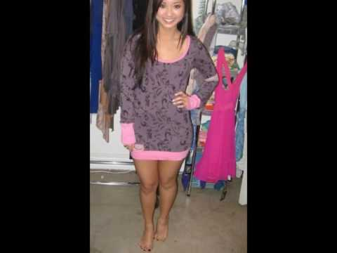 Brenda Song SHows off Her Feet and Long Legs