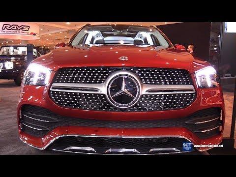 2020 Mercedes Benz GLE Class GLE 450 4Matic - Exterior Interior Walkaround - 2019 New York Auto Show