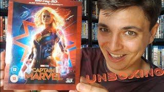 Captain Marvel Blu Ray 3D