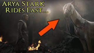 Where Arya Is Really Going On The White Horse! SEASON 8 🐎 ⚔️