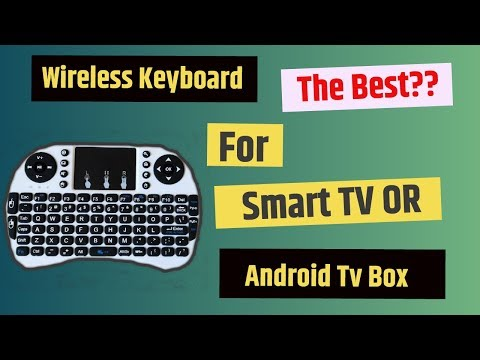 Best Wireless Remote OR Keyboard For Smart Tv And Android TV Box 🔥🔥🔥🔥