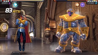 Dr. Strange vs. Thanos Coulson