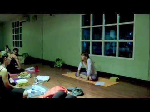 Pranayama Basics--Yama Yoga Studios, Doha, Qatar, October 8, 2013