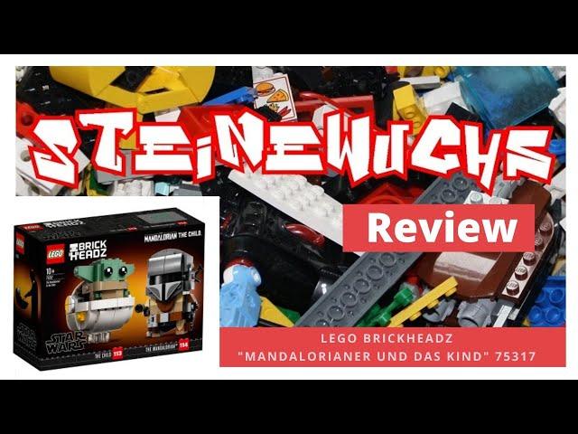 Review - Lego BrickHeadz Mandalorian und das Kind 75317