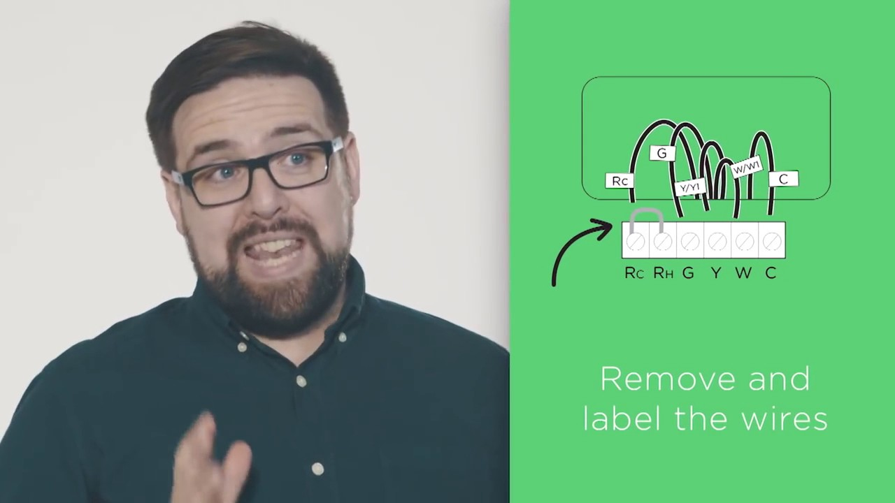 How To Install Ecobee3 Lite Youtube Old White Rodgers Thermostat Wiring Diagram