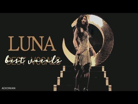 F(x) LUNA BEST VOCALS