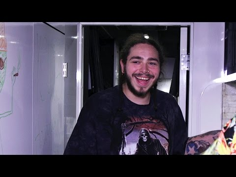 Post Malone Shows Off Swag & Tour Bus