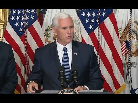 Pence At Beirut Attack Memorial- Full Speech (audio only)