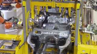 Produktion BMW 7er (G11) im Werk Dingolfing: Karosseriebau