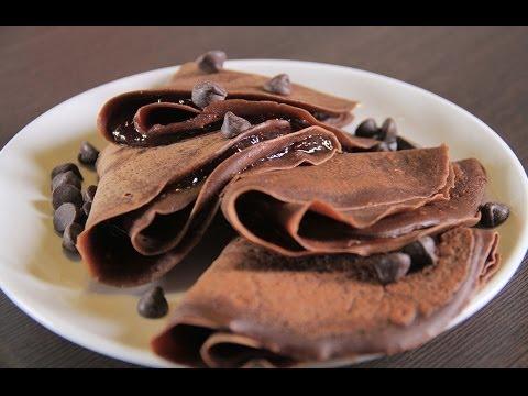 طريقة عمل كريب الشوكولاته   مع فاطمة