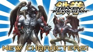 Tekken Revolution: 10 New Characters Revealed! Full Description + Official Namco Voting Poll!