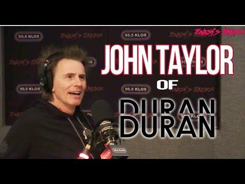 John Taylor of Duran Duran in-studio