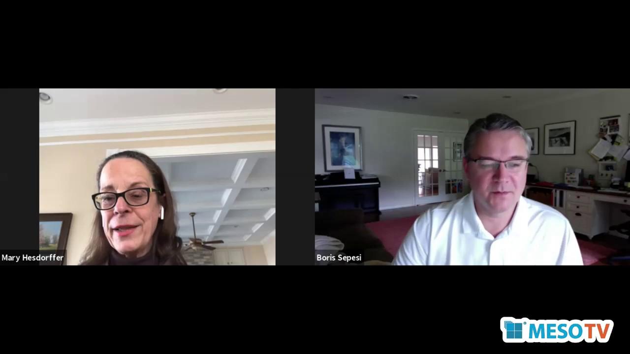 MesoTV | MD Anderson Cancer Center's Dr. Boris Sepesi Speaks to Us