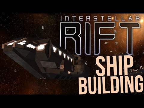 Interstellar Rift Gameplay - Ship Building / Resource Gathering - First Look