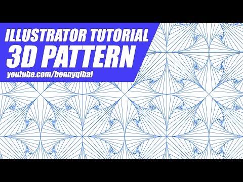 Illustrator Tutorial 3D Pattern thumbnail